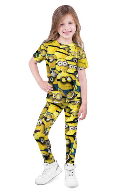 Детский костюм с миньонами