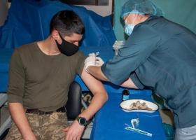 За 4 дня в Украине сделано более трех тысяч прививок от коронавируса