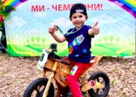 В Одессе четырехлетний мальчик установил национальный рекорд