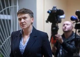 Сегодня проверяли психическое здоровье Надежды Савченко