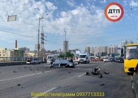 Тела четырех человек разбросало по дороге