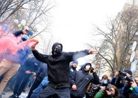 В Киеве активисты выходили на