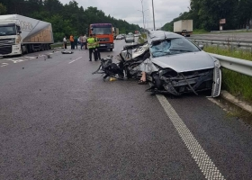 На Киевщине в ДТП водитель потерял двух родственников (ФОТО)