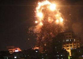 Израиль разбомбил телеканал ХАМАС после нападения на израильскую территорию