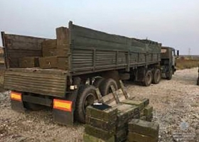 Полиция задержала КамАЗ, перевозивший сотни неучтенных боевых гранат