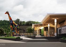 Возле столичного зоопарка начнут устанавливать статую 15-метрового животного в