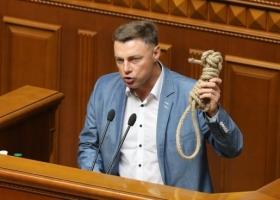 Волшебная веревка: депутат Куприй записал себя в спасители отечества из-за принесенной им в Раду петли