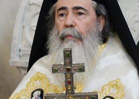 Представители Иерусалимского патриархата получили от Порошенко месседжи и провели ему экскурсию в Храме Гроба Господнего