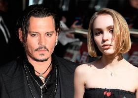 Джонни Депп признался, что давал марихуану своей 13-летней дочери Лили-Роуз