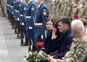 В Харькове прощаются с курсантом, погибшим в авиакатастрофе под Чугуевом