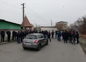 Евробляхеры заблокировали работу таможни