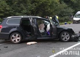 В  лобовом столкновении под Винницей погиб водитель