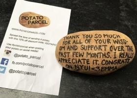 Американец получает $10 тыс. в месяц за надписи маркером на картофеле