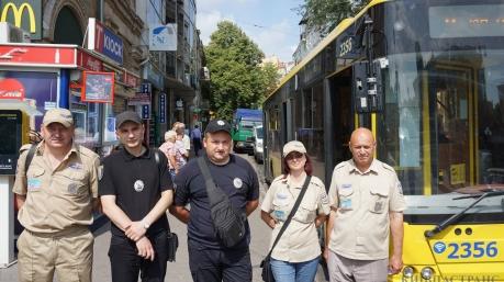 С преступностью в Киеве покончено, полиция переключилась на «зайцев»