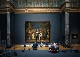 «Ночной дозор» Рембрандта будут реставрировать и транслировать онлайн