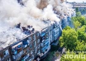 В Новой Каховке ликвидировали пожар в доме, виновника задержали