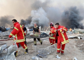 Число погибших при взрыве в Бейруте выросло до 30 человек, более трех тысяч раненых