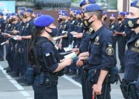 Первая в Украине: в Одессе патрульную службу возглавила женщина