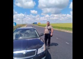 Под Херсоном полицейский устроил стрельбу на трассе, есть пострадавшие