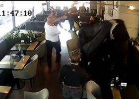 Драка дня: Кива получил в челюсть в киевском ресторане