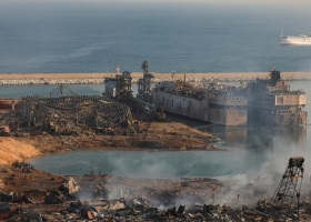 В порту Мариуполя подтвердили, что украинский корабль отправился накануне взрыва в Бейрут