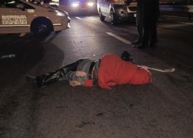 Mercedes сбил насмерть женщину (ФОТО)