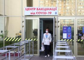 За субботу в Киеве привилось от COVID-19 рекордное количество людей