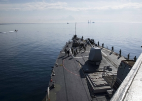 США направили в Черное море для поддержки Украины эсминец USS Donald Cook