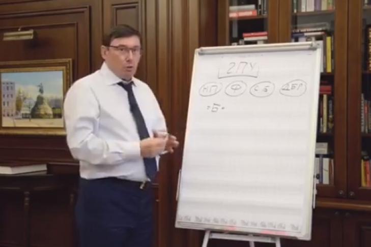 Теория временных должностей: Луценко заявил, что не будет гнуть то, чего у него нет