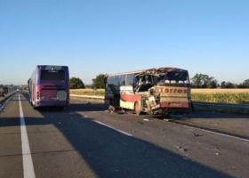 Жуткое ДТП на Кировоградщине: в столкновении двух автобусов погибли два человека, травмированы десять