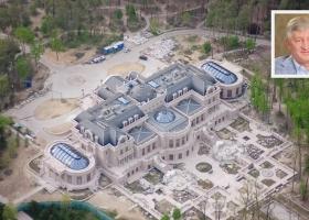 Джакузи, парковка и бассейн: Ахметов достроил свою помпезную резиденцию под Киевом