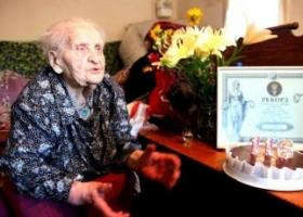 Украинка Кристина Нагорная родилась 1 июня 1900 года