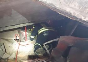 Взрыв в Николаевской области: под железобетонной плитой оказался человек
