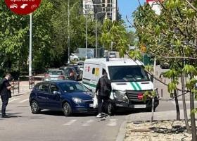 В Киеве произошло серьезное ДТП с авто инкассаторов