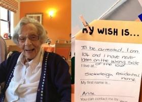 104-летнюю добропорядочную гражданку впервые в жизни арестовали полицейские