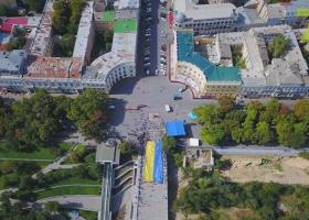 Потемкинскую лестницу в Одессе