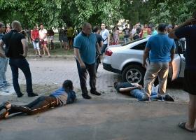 В Одессе с выстрелами и погоней задержали членов этнической банды