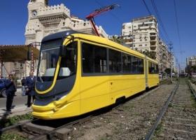 Трамвай украинского производства повез первых египетских пассажиров
