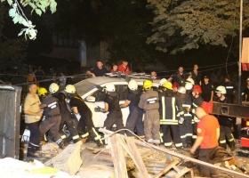 В центре Киева прогремел мощный взрыв (ВИДЕО)