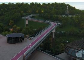 Ко дню Киева планируется открытие моста, о котором когда-то забыли