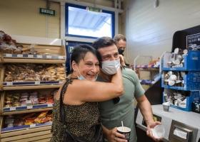 Зеленского с сыном заметили в столичном супермаркете