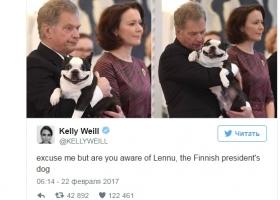 Улыбающийся друг президента Финляндии стал любимчиком соцсетей