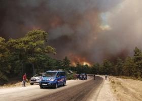 Спасатели не справляются: масштабные пожары в Греции вспыхивают с новой силой