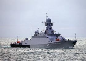 Новий корабель ЧФ РФ тренувався застосовувати ракети