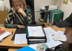В Полтаве на взятке задержали начальницу управления налоговой