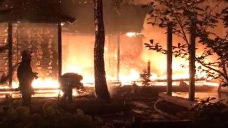 Сжечь за 28 секунд: Гонтарева рассказала о «профессионалах»-поджигателях, которые уничтожили ее дом