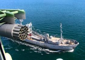 В Черном море прошли учения корабельной десантной группы
