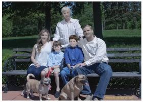 После нескольких месяцев ожидания американская семья получила фотографии, от которых