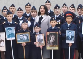 Шедевры скрепотворчества: российские дети поклялись умереть за «дядю Вову»