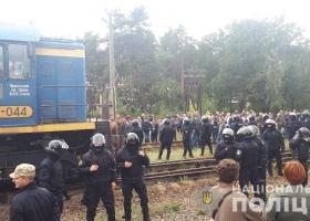 Нацполиция начала силовую операцию против активистов на Галичине